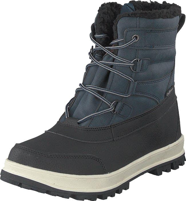 Gulliver 430-9694 Waterproof Warm Lined Navy Blue, Kengät, Bootsit, Lämminvuoriset kengät, Musta, Harmaa, Unisex, 30