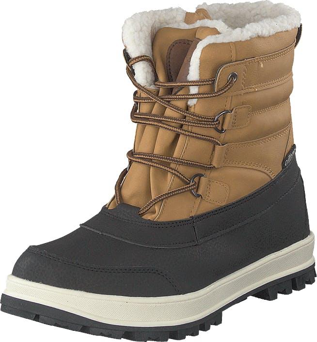 Gulliver 430-9694 Waterproof Warm Lined Yellow, Kengät, Bootsit, Lämminvuoriset kengät, Ruskea, Unisex, 32