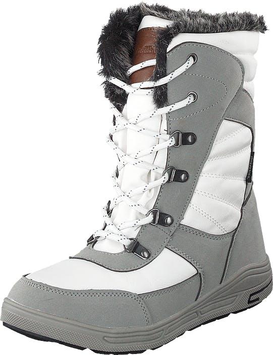 Gulliver 430-9331 Wateproof Warm Lining White, Kengät, Bootsit, Lämminvuoriset kengät, Harmaa, Unisex, 31