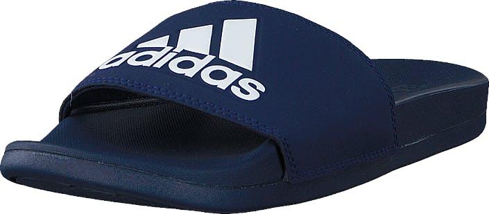 Image of Adidas Sport Performance Adilette Comfort Dark Blue/ftwr White/dark Blue, Kengät, Sandaalit ja tohvelit, Sandaalit, Sininen, Unisex, 46