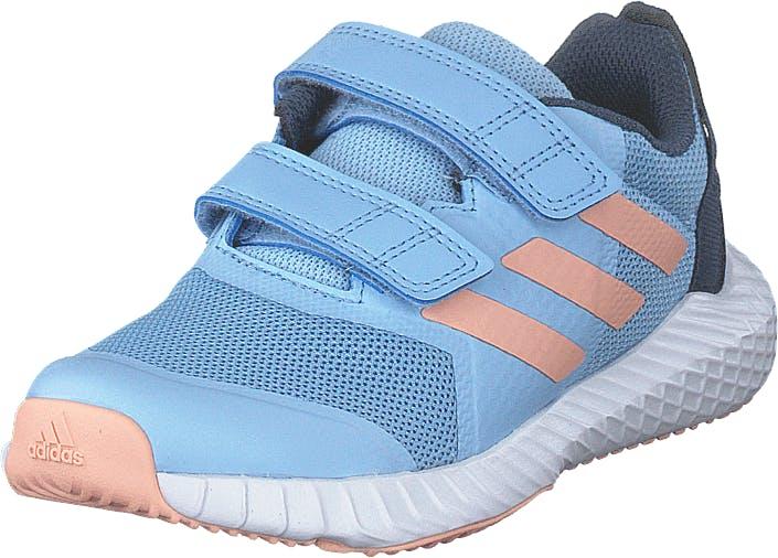 Image of Adidas Sport Performance Fortagym Cf K Glow Blue/glow Pink/tech Ink, Kengät, Sneakerit ja urheilukengät, Urheilukengät, Sininen, Lapset, 29