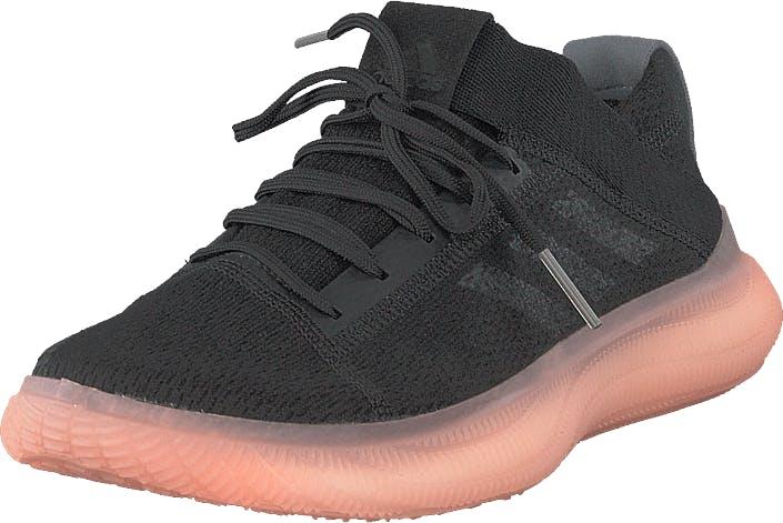 Image of Adidas Sport Performance Pureboost Trainer W Core Black/core Black/grey Thr, Kengät, Matalapohjaiset kengät, Kangaskengät, Musta, Naiset, 39