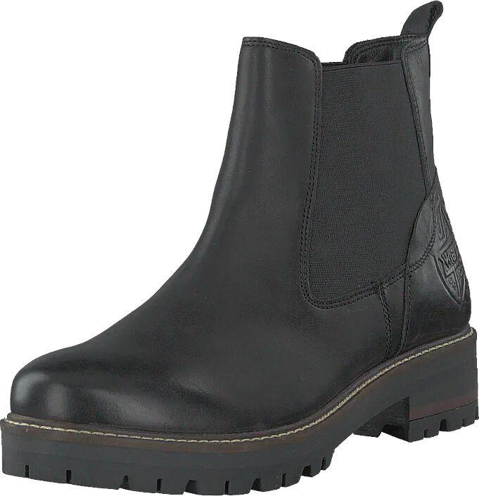 Wrangler Denver Chelsea Black, Kengät, Bootsit, Chelsea boots, Musta, Harmaa, Naiset, 41