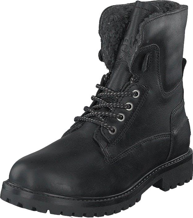 Wrangler Aviator Fur Black, Kengät, Bootsit, Kengät, Musta, Miehet, 40