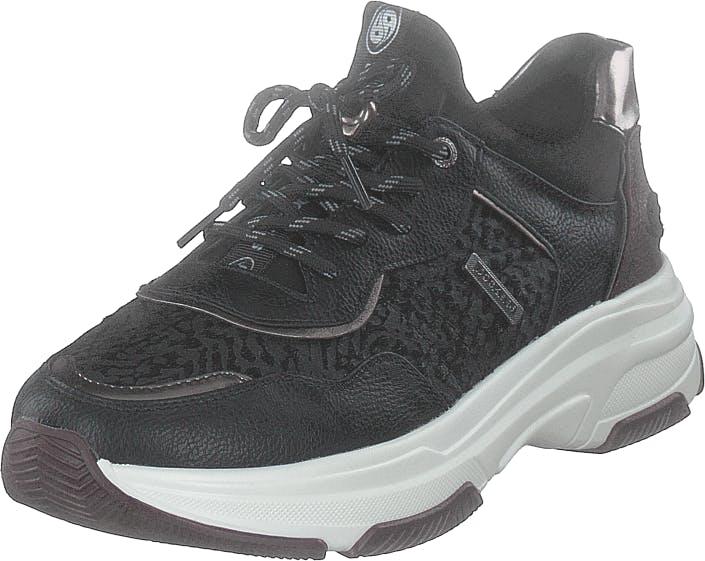 Dockers by Gerli 44dc206-610173 Black, Kengät, Sneakerit ja urheilukengät, Sneakerit, Musta, Naiset, 37