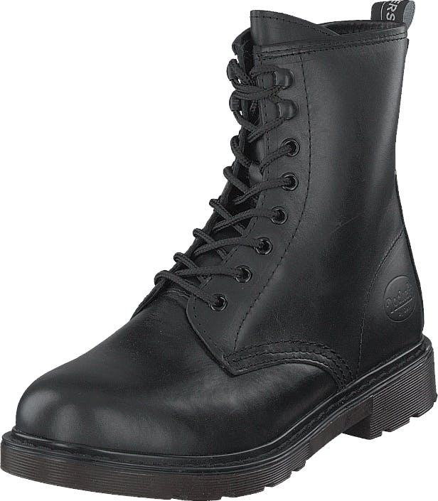 Dockers by Gerli 45en201-100100 Black, Kengät, Bootsit, Kengät, Harmaa, Naiset, 39