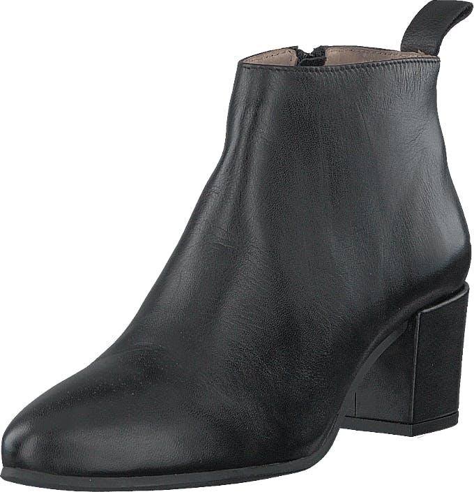 Shoe Biz Friannah Lo Velvet Black, Kengät, Saappaat ja Saapikkaat, Nilkkurit, Musta, Naiset, 38