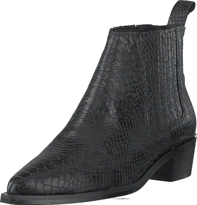 Shoe Biz Baran Anaconda Black, Kengät, Saappaat ja Saapikkaat, Nilkkurit, Harmaa, Naiset, 41