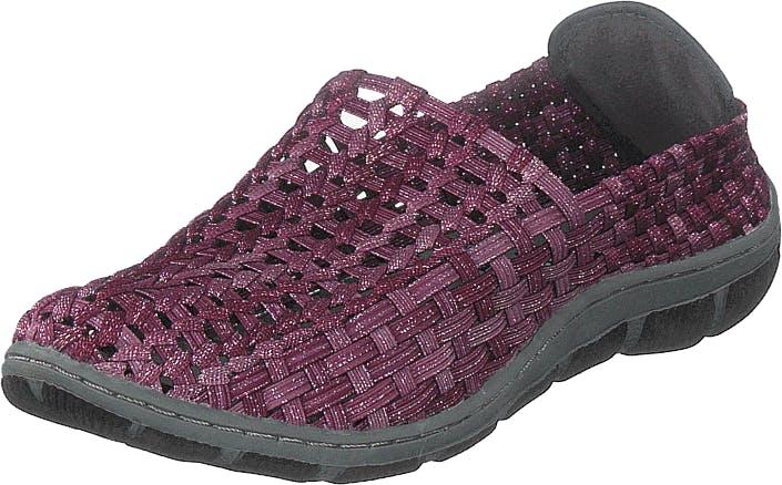Rock Spring Cape Horn Bordo, Kengät, Matalapohjaiset kengät, Slip on, Violetti, Naiset, 39