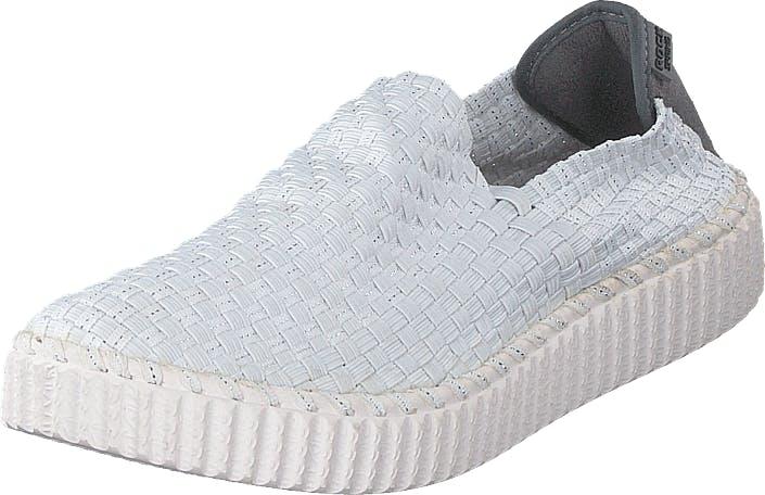 Rock Spring Almare White, Kengät, Matalapohjaiset kengät, Slip on, Valkoinen, Naiset, 38