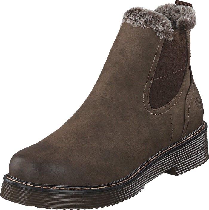 Bugatti Neria Brown, Kengät, Bootsit, Chelsea boots, Ruskea, Naiset, 42