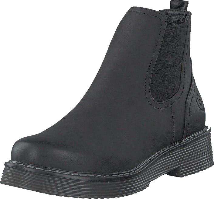 Bugatti Neria Black, Kengät, Bootsit, Chelsea boots, Musta, Naiset, 38