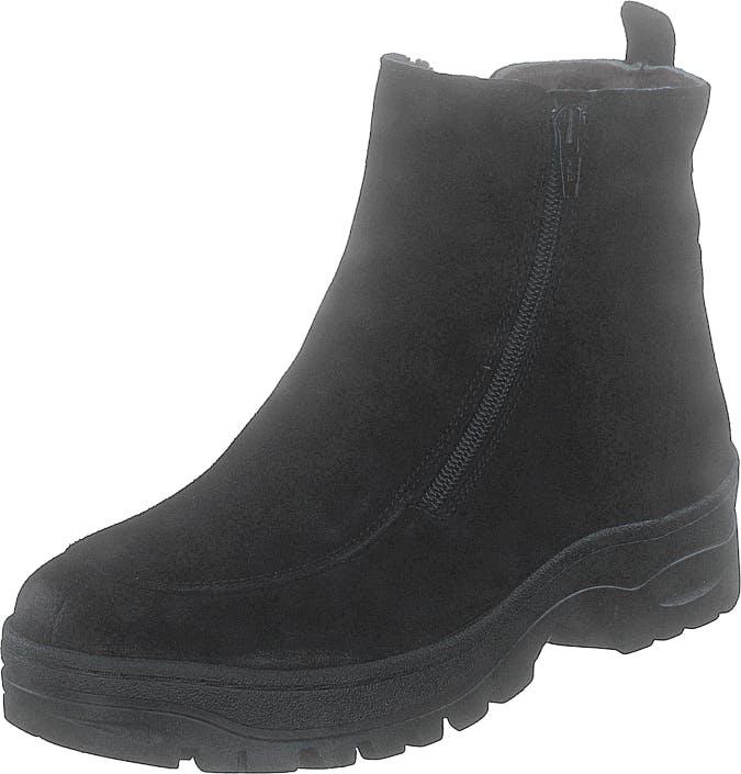 Ilves 75386-01 Black, Kengät, Bootsit, Kengät, Musta, Naiset, 38