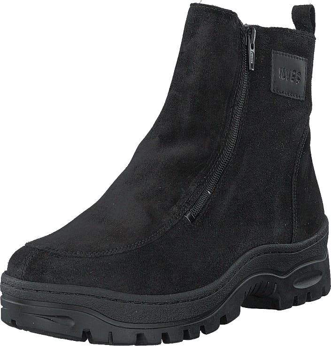 Ilves 75386-01 Black, Kengät, Bootsit, Kengät, Musta, Naiset, 39