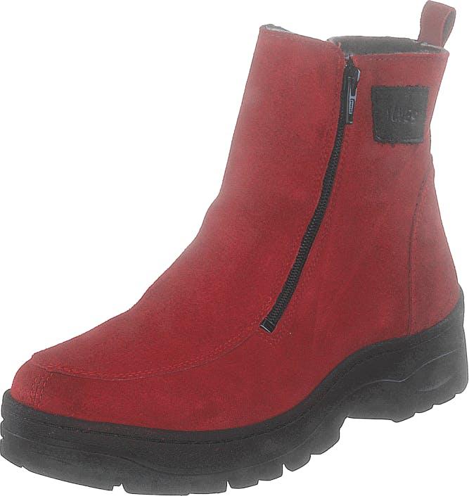 Ilves 75386-02 Red, Kengät, Bootsit, Kengät, Punainen, Naiset, 38
