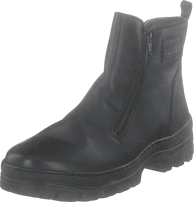 Ilves 756610-01 Black, Kengät, Bootsit, Chelsea boots, Musta, Naiset, 38