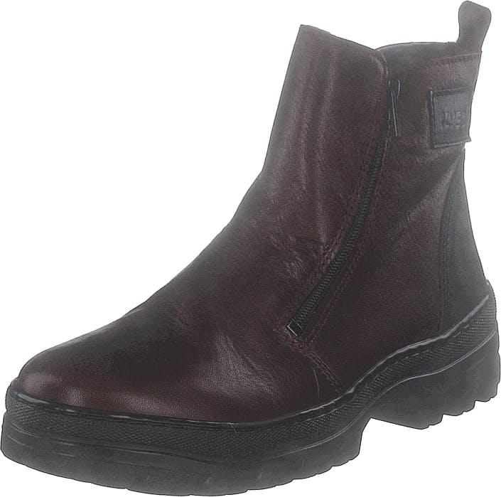 Ilves 756610-06 Bordo, Kengät, Bootsit, Chelsea boots, Violetti, Naiset, 37