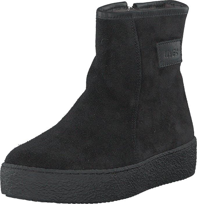 Ilves 758261s-01 Black, Kengät, Bootsit, Curlingkengät, Musta, Naiset, 38