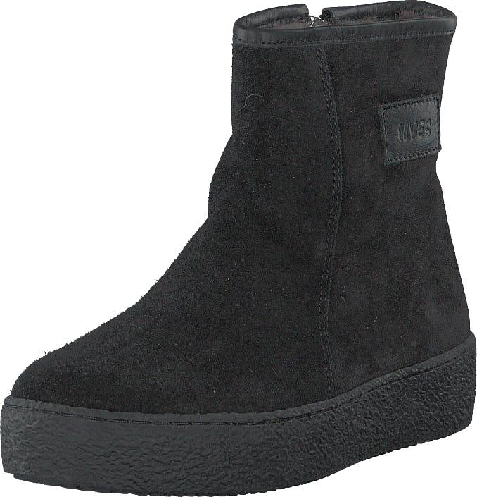Ilves 758261s-01 Black, Kengät, Bootsit, Curlingkengät, Musta, Naiset, 39