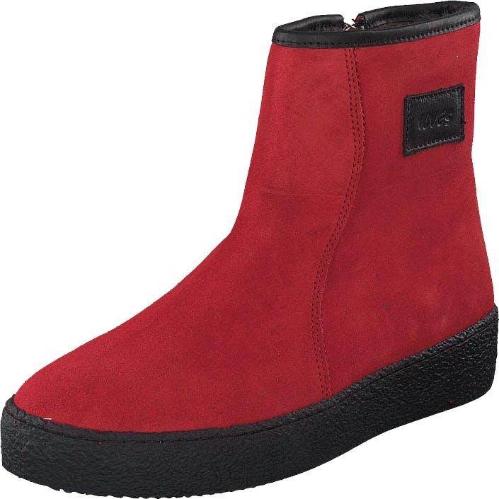 Ilves 758261s02 Red, Kengät, Bootsit, Curlingkengät, Punainen, Naiset, 36
