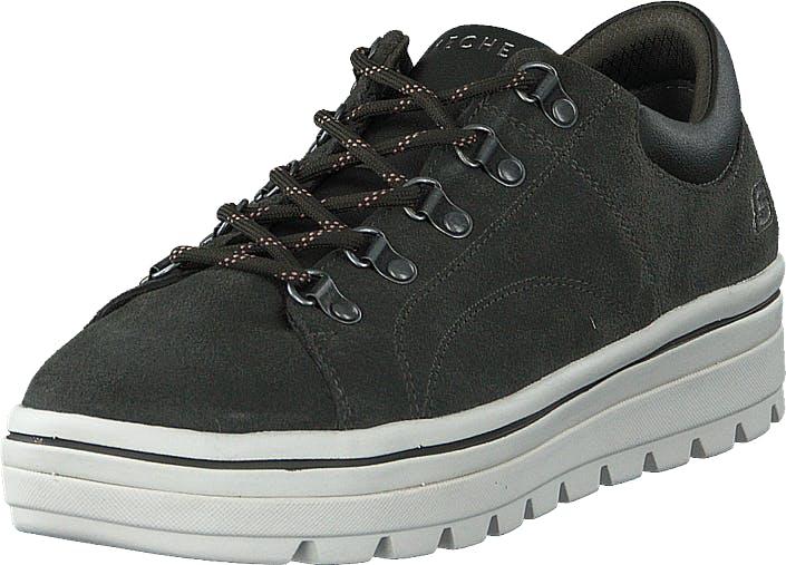 Skechers Womens Street Cleats 2 Olv, Kengät, Sneakerit ja urheilukengät, Urheilukengät, Musta, Harmaa, Naiset, 36
