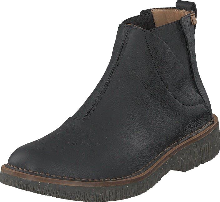 Image of El Naturalista Volcano Black, Kengät, Bootsit, Chelsea boots, Musta, Naiset, 39
