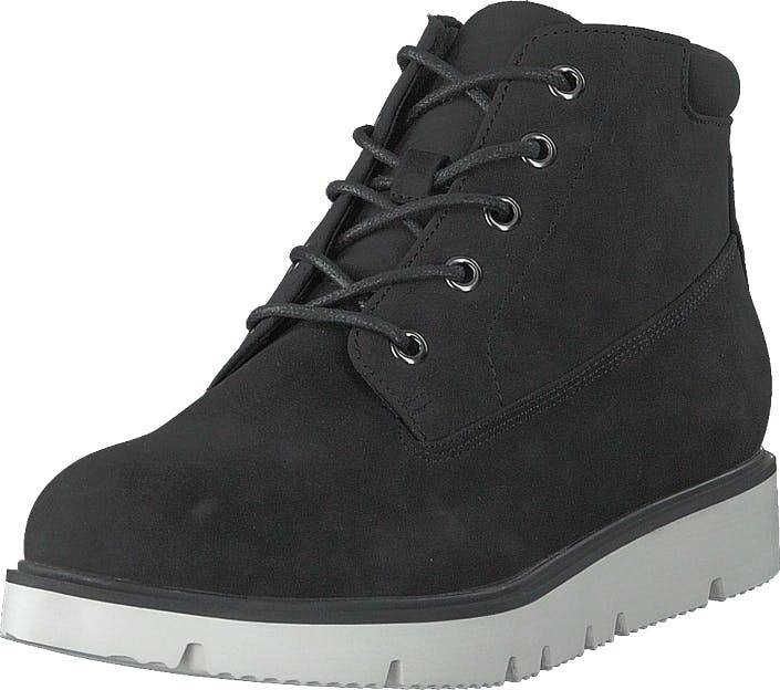 Bianco Biaasta Warm Wedge Boot Black, Kengät, Bootsit, Chukka boots, Musta, Naiset, 40