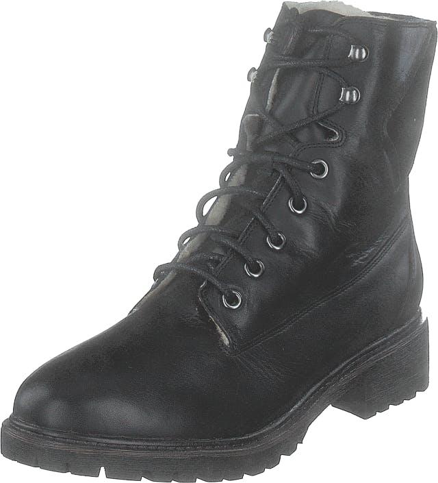 Bianco Biacheryl Winter Warm Boot Black, Kengät, Bootsit, Kengät, Musta, Naiset, 38