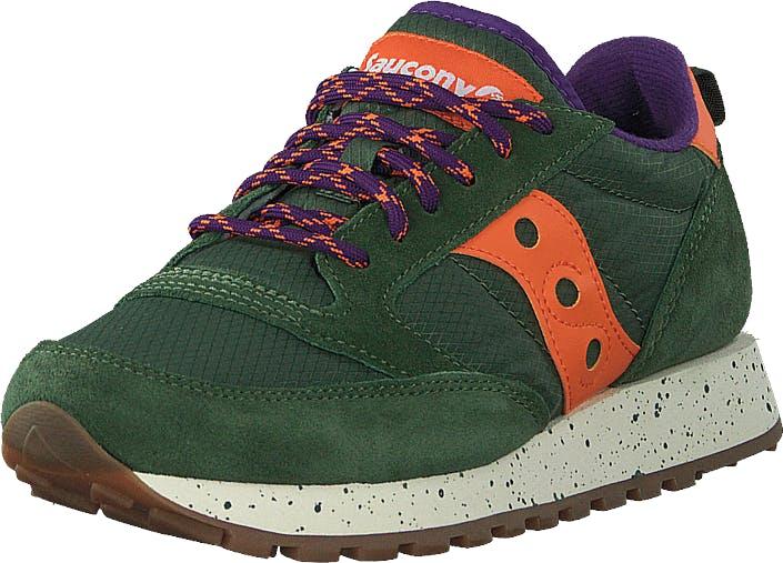 Saucony Jazz Original Outdoor Green/orange, Kengät, Sneakerit ja urheilukengät, Sneakerit, Vihreä, Unisex, 37
