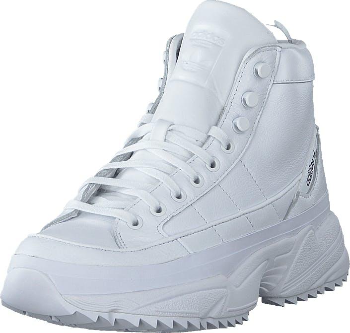 Image of Adidas Originals Kiellor Xtra W Ftwr White/ftwr White/core Bla, Kengät, Bootsit, Chukka boots, Valkoinen, Naiset, 37