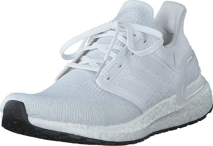 Adidas Sport Performance Ultraboost 20 Ftwr White/grey Three F17/core, Kengät, Matalapohjaiset kengät, Kävelykengät, Valkoinen, Unisex, 41