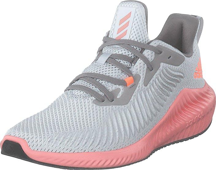Image of Adidas Sport Performance Alphabounce 3 W Dash Grey/glory Pink/signal Co, Kengät, Sneakerit ja urheilukengät, Urheilukengät, Sininen, Harmaa, Naiset, 39