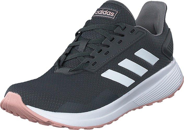 Adidas Sport Performance Duramo 9 Grey Six/ftwr White/pink Spiri, Kengät, Tennarit ja Urheilukengät, Sneakerit, Sininen, Harmaa, Naiset, 39