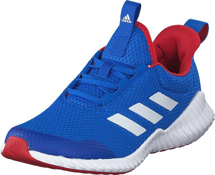 Adidas Sport Performance Fortarun K Glory Blue/ftwr White/scarlet, Kengät, Tennarit ja Urheilukengät, Urheilukengät, Sininen, Unisex, 39