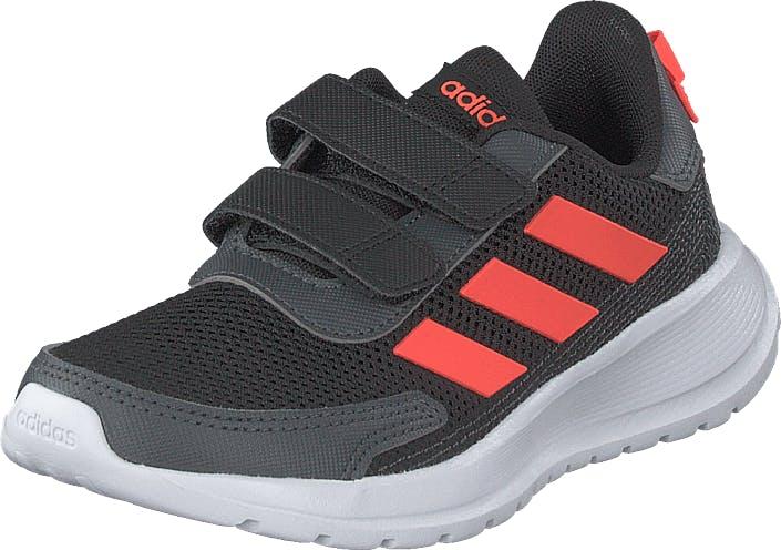 Adidas Sport Performance Tensaur Run C Core Black/solar Red/grey Six, Kengät, Sneakerit ja urheilukengät, Sneakerit, Musta, Lapset, 29