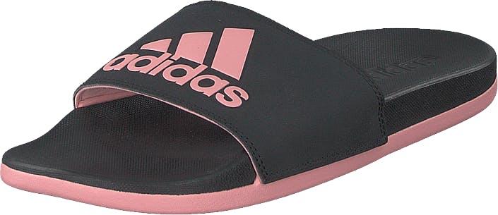 Image of Adidas Sport Performance Adilette Comfort Core Black/glory Pink/core Bla, Kengät, Sandaalit ja tohvelit, Remmisandaalit, Musta, Unisex, 45