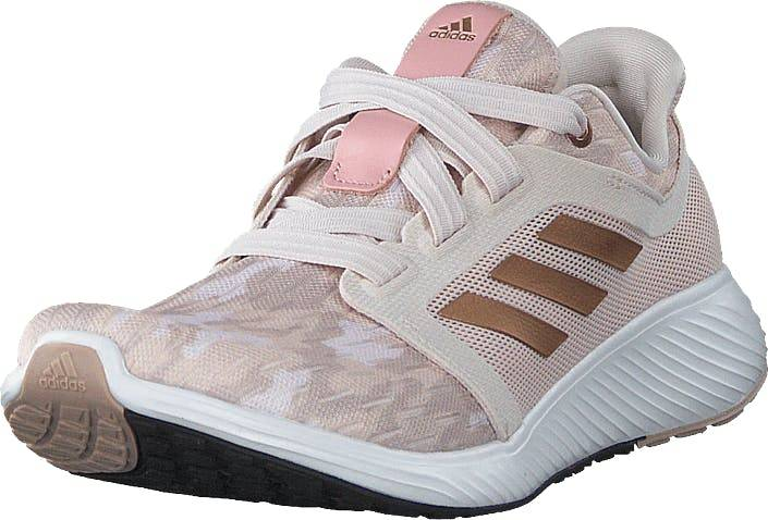 Adidas Sport Performance Edge Lux 3 W Echo Pink/copper Met./echo Pin, Kengät, Tennarit ja Urheilukengät, Urheilukengät, Pronssi, Harmaa, Naiset, 40