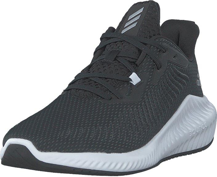Adidas Sport Performance Alphabounce 3 Core Black/silver Met./core Bl, Kengät, Tennarit ja Urheilukengät, Sneakerit, Sininen, Harmaa, Hopea, Unisex, 40