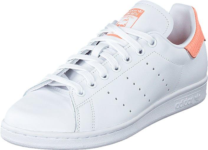 Adidas Originals Stan Smith W Ftwr White/ftwr White/chalk Co, Kengät, Tennarit ja Urheilukengät, Sneakerit, Valkoinen, Naiset, 41