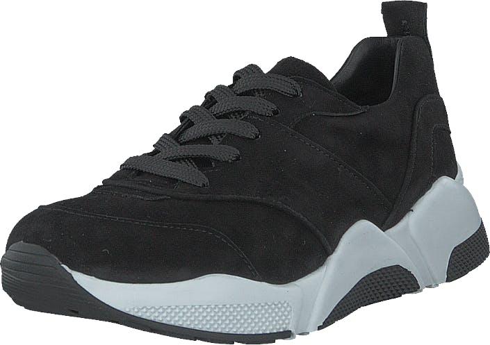 Billi Bi Sportshoe Black Suede, Kengät, Tennarit ja Urheilukengät, Sneakerit, Musta, Naiset, 36