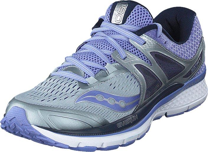 Saucony Triumph Iso 3 Grey/purple, Kengät, Sneakerit ja urheilukengät, Tennarit, Sininen, Naiset, 42