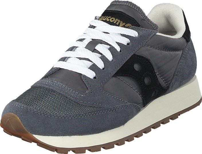Saucony Jazz Original Vintage Grey/black, Kengät, Sneakerit ja urheilukengät, Sneakerit, Harmaa, Unisex, 41