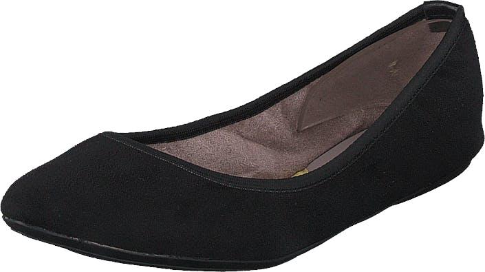 Butterfly Twists Janey Jet Black, Kengät, Matalat kengät, Ballerinat, Musta, Naiset, 38