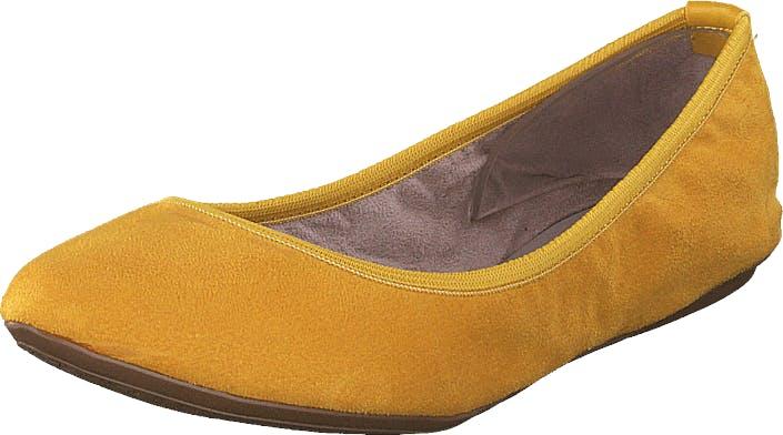 Butterfly Twists Janey Mustard, Kengät, Matalat kengät, Ballerinat, Oranssi, Keltainen, Naiset, 37