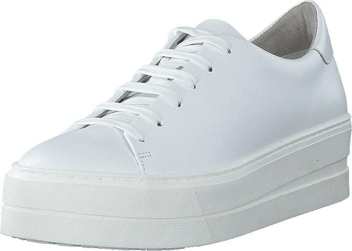 Image of Tamaris 1-1-23756-24 White Uni, Kengät, Sneakerit ja urheilukengät, Varrettomat tennarit, Valkoinen, Naiset, 42