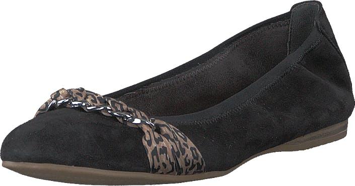 Image of Tamaris 1-1-22104-24 Black, Kengät, Matalat kengät, Ballerinat, Musta, Naiset, 41