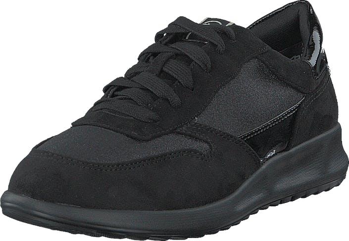 Image of Tamaris 1-1-23625-24 Black Glam, Kengät, Sneakerit ja urheilukengät, Sneakerit, Musta, Naiset, 40