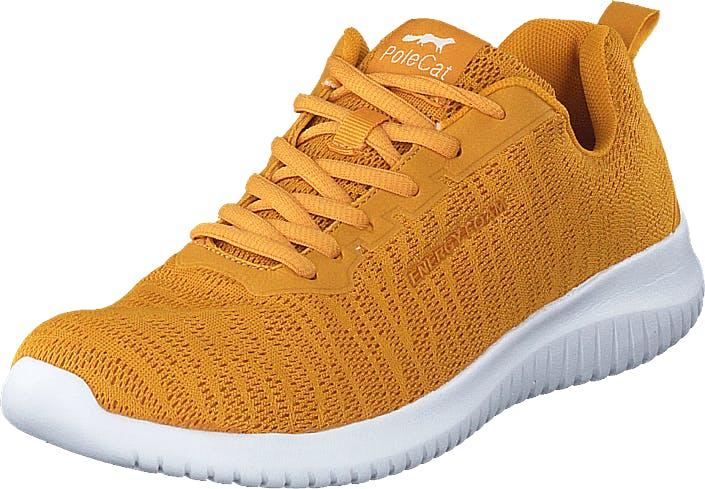 Polecat 435-0105 Yellow, Kengät, Tennarit ja Urheilukengät, Sneakerit, Oranssi, Keltainen, Naiset, 36