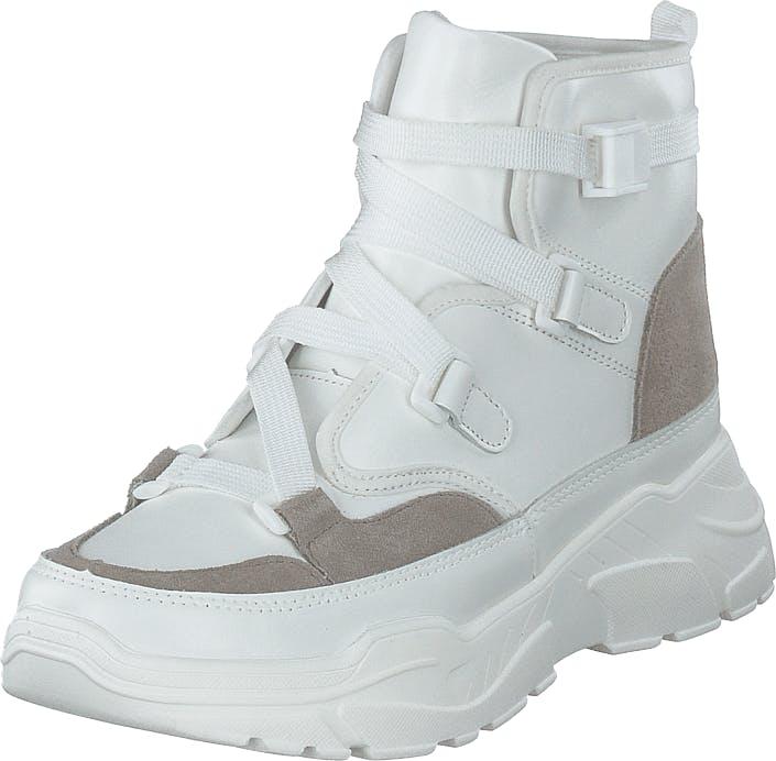 Sofie Schnoor Valley 102 White, Kengät, Bootsit, Korkeavartiset bootsit, Valkoinen, Naiset, 37