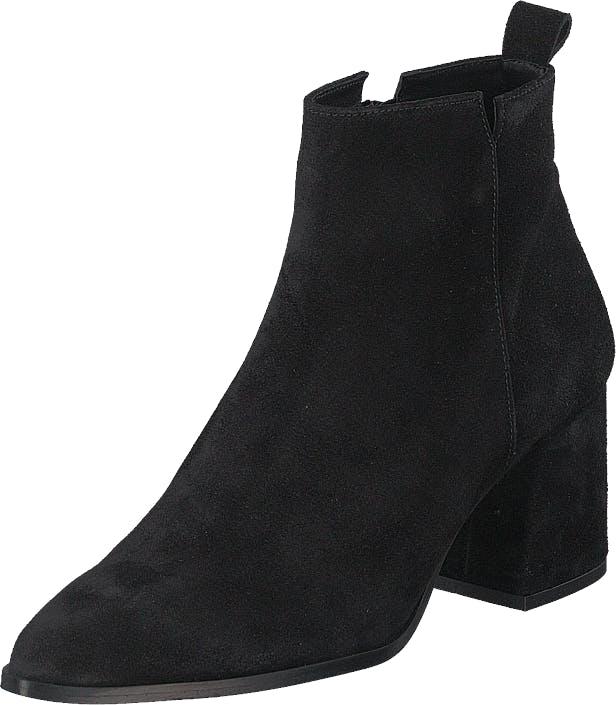 Bianco Biadonata Ankle Boot Black 1, Kengät, Saappaat ja Saapikkaat, Nilkkurit, Musta, Naiset, 41